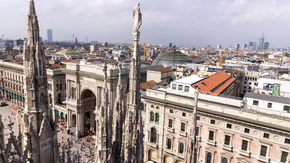 Über den Dächern Mailands