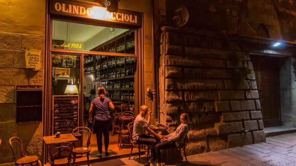 Bologna bei Nacht