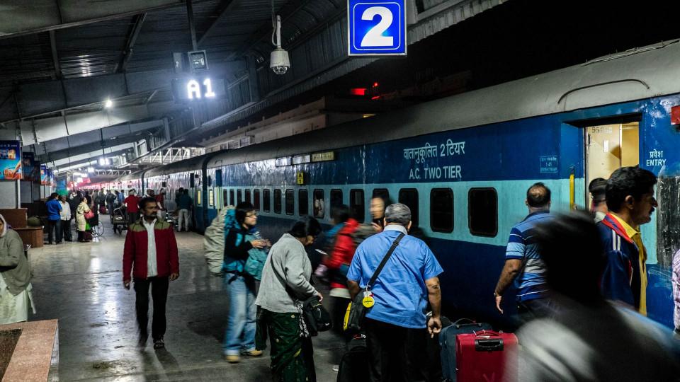 Im Nachtzug nach Aurangabad